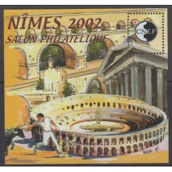 France - CNEP Sheets - 2002 - Nb CNEP 36 - Monuments