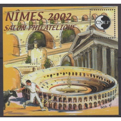 France - Feuillets CNEP - 2002 - No CNEP 36 - Monuments