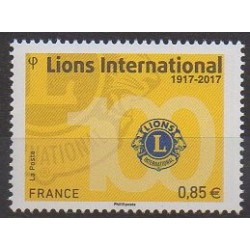 France - Poste - 2017 - No 5152 - Rotary - Lions club