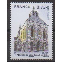 France - Poste - 2017 - Nb 5146 - Churches