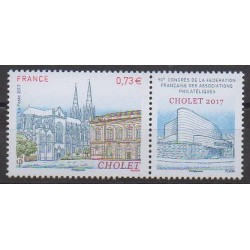 France - Poste - 2017 - Nb 5142 - Sights - Exhibition