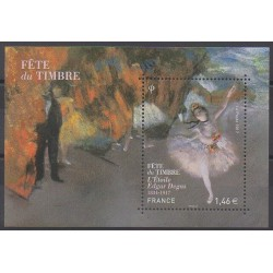 France - Blocks and sheets - 2017 - Nb F5131 - Paintings - Philately