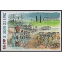 France - Blocks and sheets - 2017 - Nb F5138 - First World War