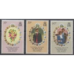 Norfolk - 1981 - Nb 260/262 - Royalty