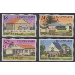 Norfolk - 1981 - Nb 263/266 - Christmas