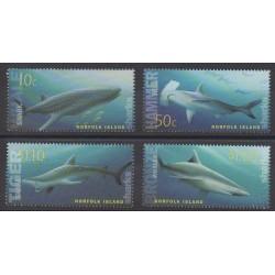 Norfolk - 2004 - No 809/812 - Mammifères - Animaux marins