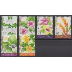 Norfolk - 2002 - No 744/749 - Fleurs