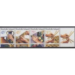 Norfolk - 1999 - No 671/674 - Artisanat ou métiers