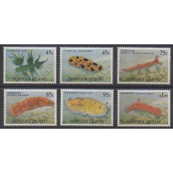 Norfolk - 1993 - No 535/540 - Animaux marins