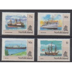 Norfolk - 1991 - Nb 499/502 - Boats
