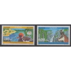 Bulgarie - 1999 - No 3814A/3814B - Parcs et jardins - Europa
