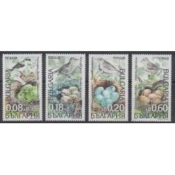 Bulgarie - 1999 - No 3832/3835 - Oiseaux