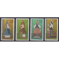 Bulgarie - 2005 - No 4072/4075 - Costumes