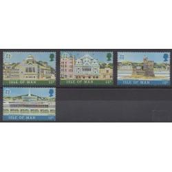 Man (Isle of) - 1987 - Nb 330/333 - Architecture - Europa