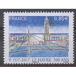 France - Poste - 2017 - Nb 5166 - Bridges