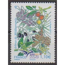 France - Poste - 2017 - Nb 5164 - Fruits or vegetables