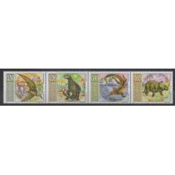 Bulgarie - 2003 - No 3968/3971 - Animaux préhistoriques