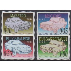 Bulgarie - 2006 - No 4109/4112 - Voitures