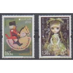 Bulgarie - 2015 - No 4415/4416 - Enfance - Europa