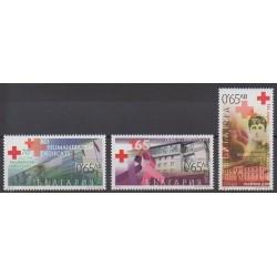 Bulgarie - 2015 - No 4417 - 4420 - 4424 - Santé ou Croix-Rouge