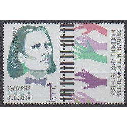 Bulgaria - 2011 - Nb 4291 - Music