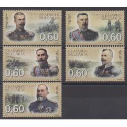 Bulgarie - 2010 - No 4245/4249 - Histoire militaire