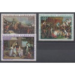 Gabon - 1969 - Nb PA84/PA87 - Napoleon - Paintings