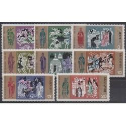 Bulgarie - 1970 - No 1752/1759 - Histoire