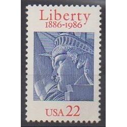 United States - 1986 - Nb 1672