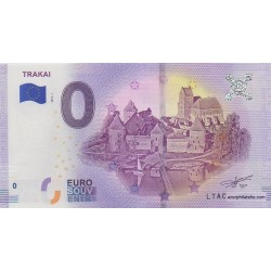 Billet souvenir - Trakai - 2018-1