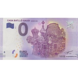 Billet souvenir - Casa Batlló Gaudi - 2018-3