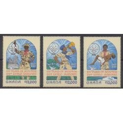Ghana - 2007 - No 3225/3227 - Scoutisme