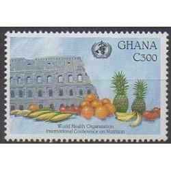 Ghana - 1992 - No 1422 - Santé ou Croix-Rouge