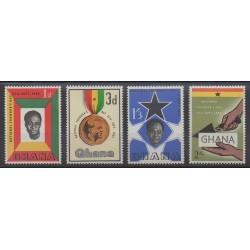 Ghana - 1962 - No 116/119 - Histoire