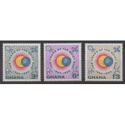 Ghana - 1964 - Nb 156/158