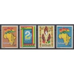 Ghana - 1969 - Nb 359/362 - Various Historics Themes