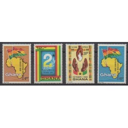 Ghana - 1969 - No 359/362 - Histoire