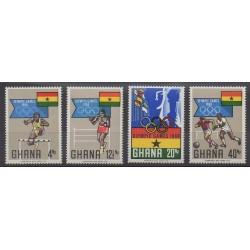 Ghana - 1969 - No 328/331 - Jeux Olympiques d'été