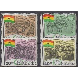 Ghana - 1968 - No 307/310 - Histoire