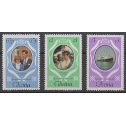 Ghana - 1981 - Nb 711/713 - Royalty