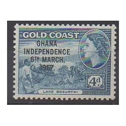 Ghana - 1957 - No 4A - Histoire