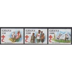Ghana - 1995 - Nb 1699/1701 - Health