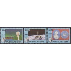 Ghana - 1987 - No 929/931 - Astronomie