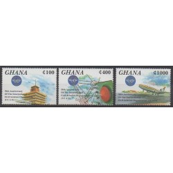 Ghana - 1995 - Nb 1735/1737 - Planes