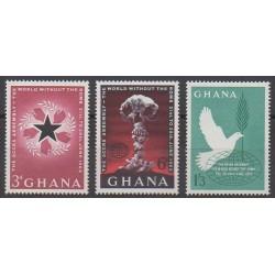 Ghana - 1962 - Nb 107/109