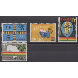 Ghana - 1959 - Nb 35/38 - Various Historics Themes