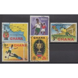 Ghana - 1959 - No 54/58 - Football - Oblitérés