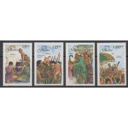 Ghana - 1988 - No 944/947 - Folklore