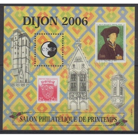 France - Feuillets CNEP - 2006 - No CNEP 45 - Timbres sur timbres