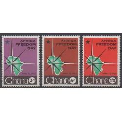 Ghana - 1962 - Nb 104/106